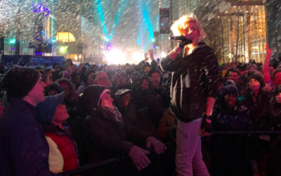 Time Music Agency brings Dessa to Superbowl LIVE stage!